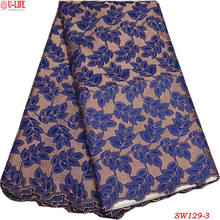 African Swiss Voile Lace High Quality 2018 New Arrival Swiss Cotton Lace Fabrics With Nigerian Wedding Dresses Women SW-129
