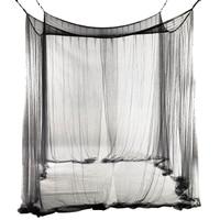 ذائع 4-Corner سرير شبكية الستارة البعوض صافي للملكة