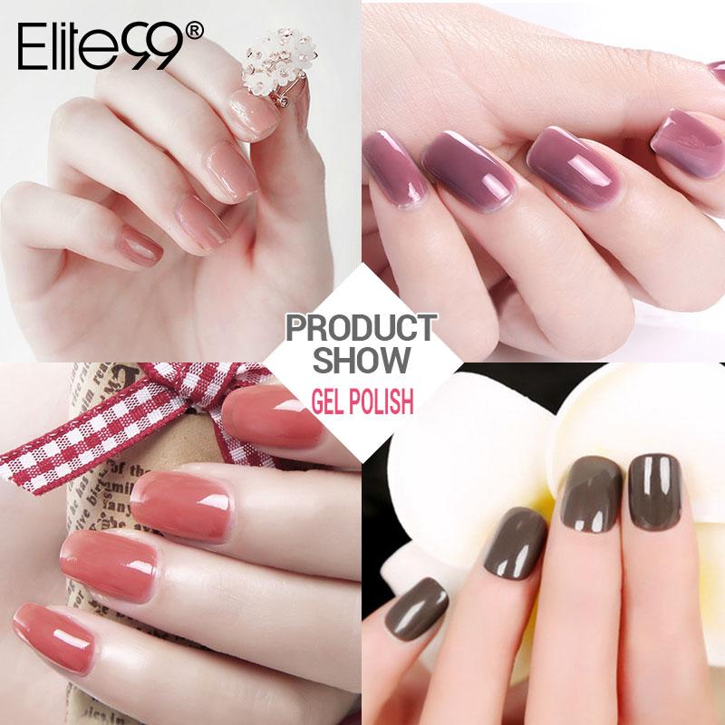 Elite99 10ml Nude Color Series Nail Gel Professionel Farve Gel Polsk - Negle kunst - Foto 5