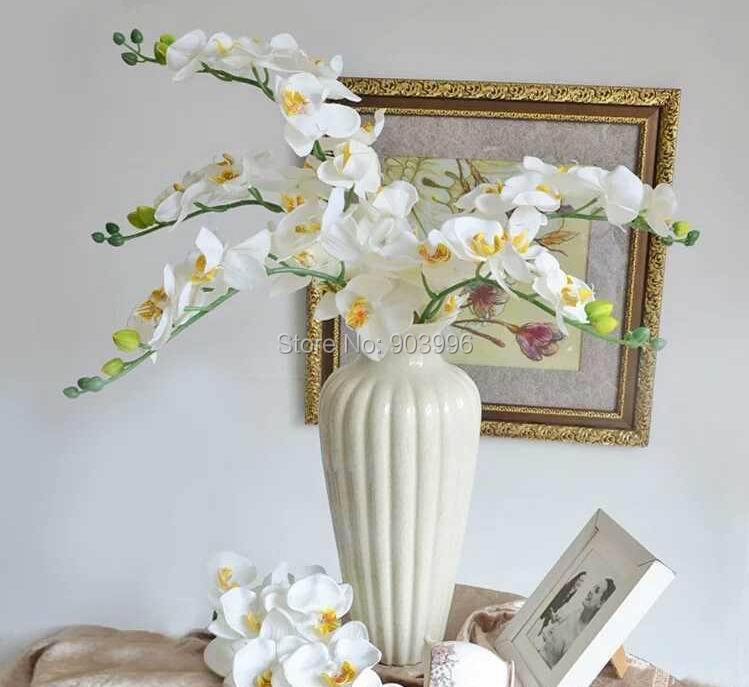 SPR 30 stks / partij kunstmatige vlinder orchidee zijde bloem - Feestversiering en feestartikelen - Foto 1