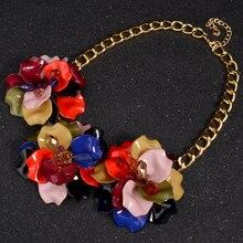 Maxi Women's Floral Statement Necklace