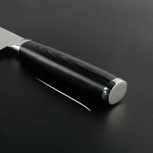 Image 2 - FINDKING جديد 6.5 بوصة ناكيري السكاكين شفرة دمشق الصلب دمشق سكين الطاهي 67 طبقات دمشق سكين المطبخ