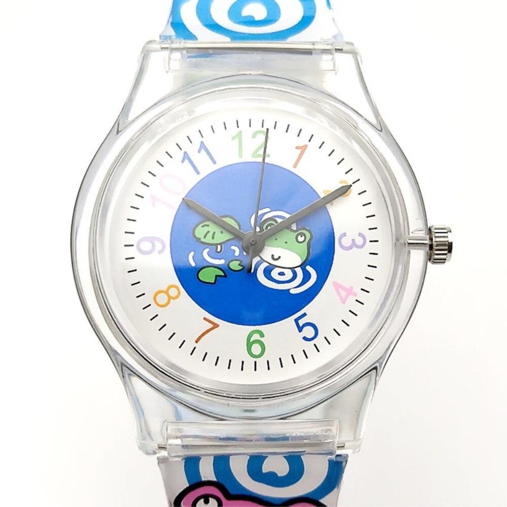 WILLIS Children Watch Cartoon Design Electronic Quartz Wristwatches For Kid Hour Boys Girls Gift Silicone Watches Women NATATE