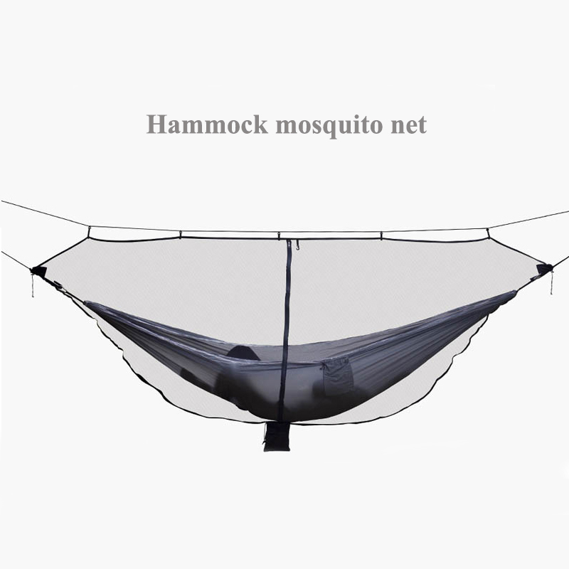 New Portable Mosquito Net Hammock Outdoor Furniture Camping Swing Chair Leisure Encryption Network Easy To Install Equipment large hammock mosquito net portable outdoor encryption mesh fit all outdoor hammock camping easily installed outdoor equipment