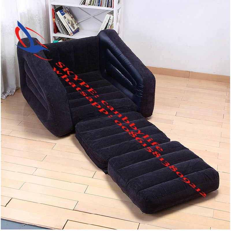 Beau Intex One Person Inflatable Pull Out Chair+Folding Inflatable Lounge Chair  +Twin Inflatable Sofa Couch Guest Lounge Sleep Bed In Camping Mat From  Sports ...