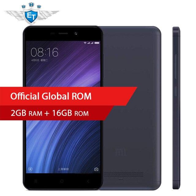 Оригинальный Xiaomi Redmi 4A 4 смартфон 2 ГБ 16 ГБ Глобальный Встроенная память 5.0 ''1280x720 Snapdragon 425 4 ядра 13MP Камера MIUI8.1