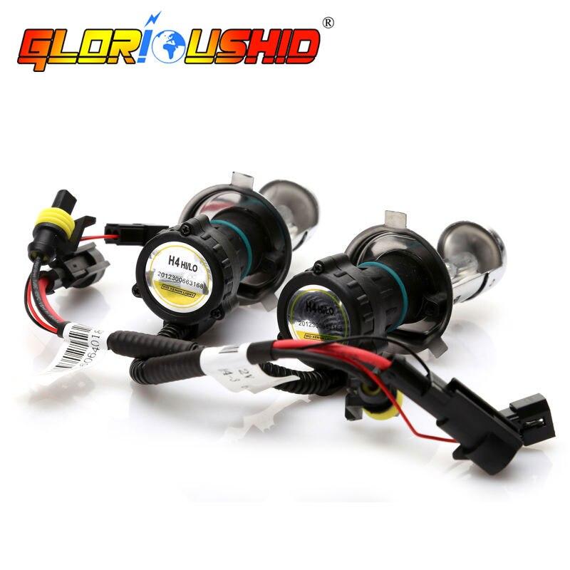 1 set h4 lampe xénon AC 55 W G500 hid kit de conversion lumière xénon 9007 H13 bi xénon 4300 k 5000 k 6000 k 8000 k h4 hi faible Ballast HID - 3