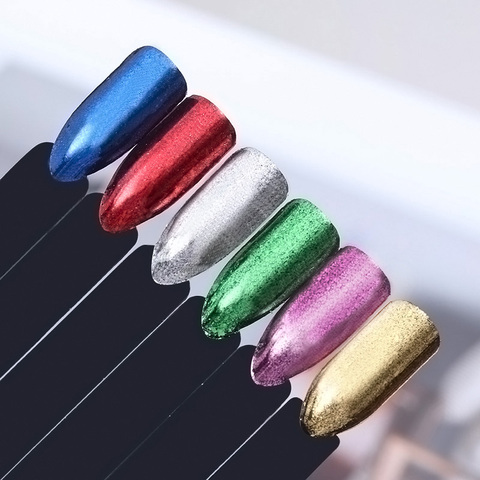 Chameleon Chrome Flakes for Nails Yuki Sequins for Nail Flakes AB Color Nails Art Mirror Chrome Spangles for Nail Glitter Multan