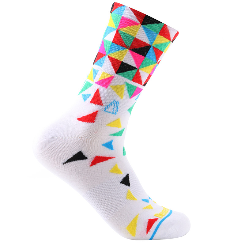 New 2017 Sports Running Cycling Socks Men and Women Bicycle Ortdoor Bike Socks and Basketball Socks in Cycling Socks from Sports Entertainment