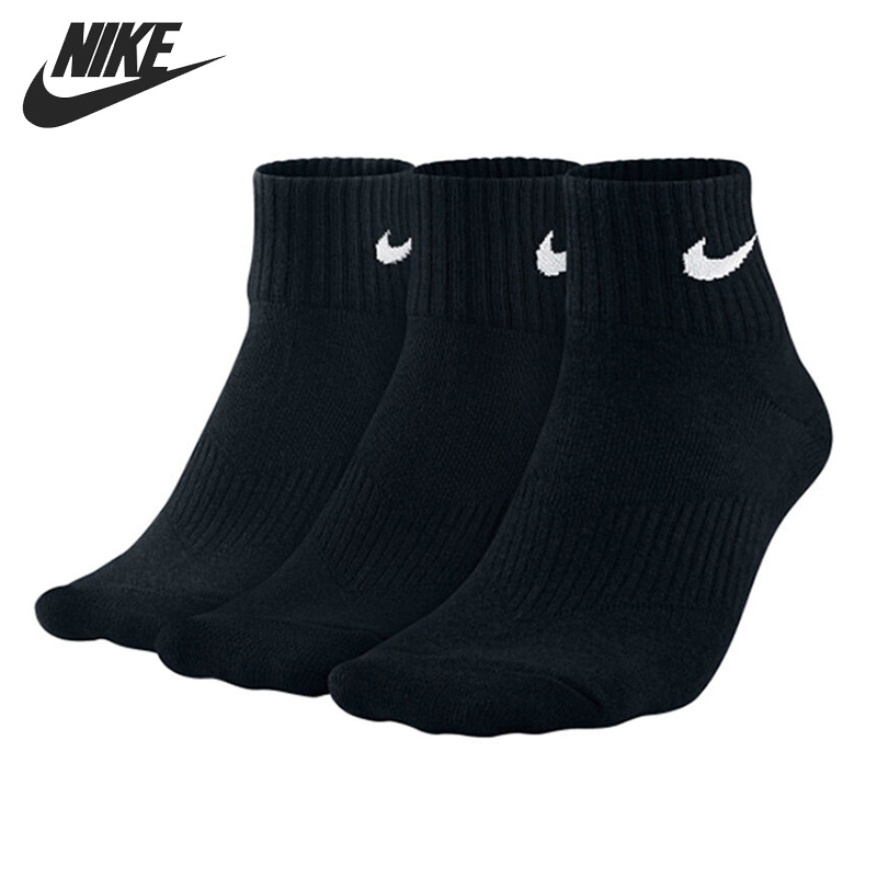 Original New Arrival  NIKE Unisex Sports Socks( 3 Pairs)