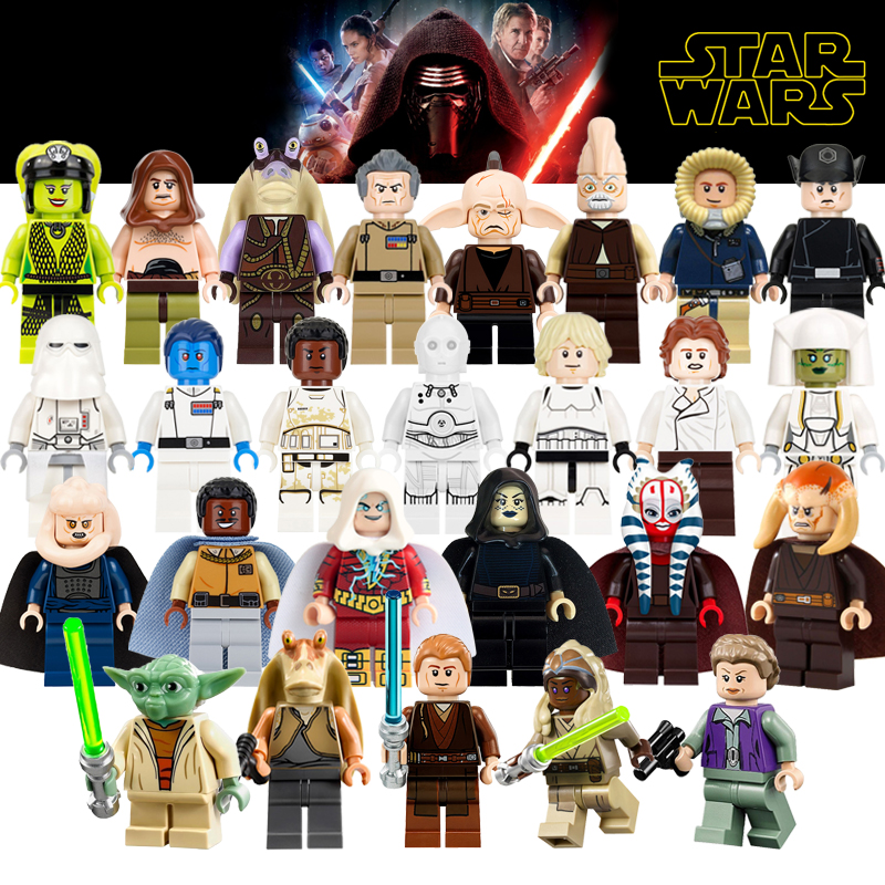 Building Blocks Figures Darth Vader Barriss Offee Shaak Ti Jedi Star Wars Super Heroes Model Action Bricks Kids DIY Toys Hobbies угловая шлифмашина bosch gws 850 125 ce 0601378792