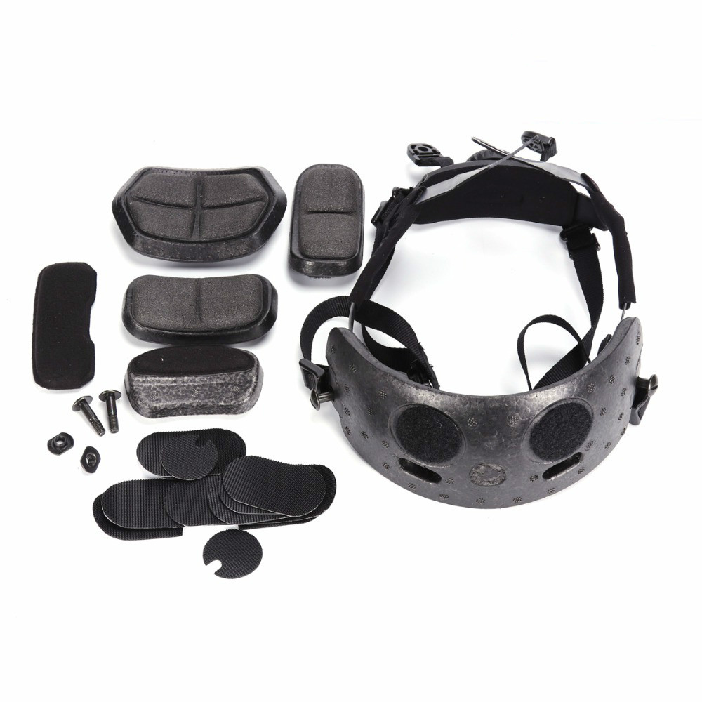 Image 2 - Helmet Hanging System for Fast BJ/PJ/MICH Helmets Tactical Helmet Liner & Suspension System Army Protective Hemet Accessories-in Hunting Gun Accessories from Sports & Entertainment