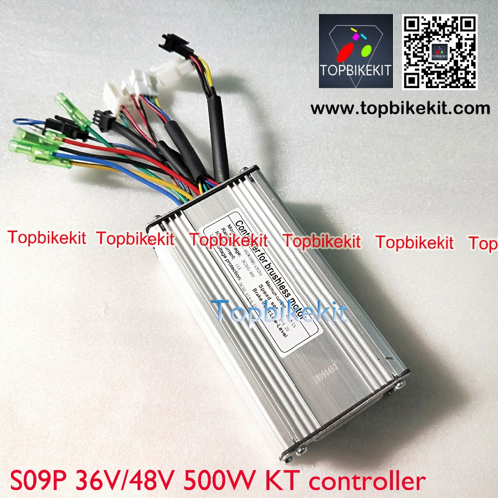 S09P 36V 500W 48V 500W  KT controller Torque Simulation Square Wave Controller