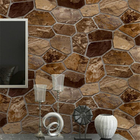 Beibehang Stereo simulation rock living room bedroom stone stone wall culture stone 3d wallpaper PVC wallpaper papel de parede