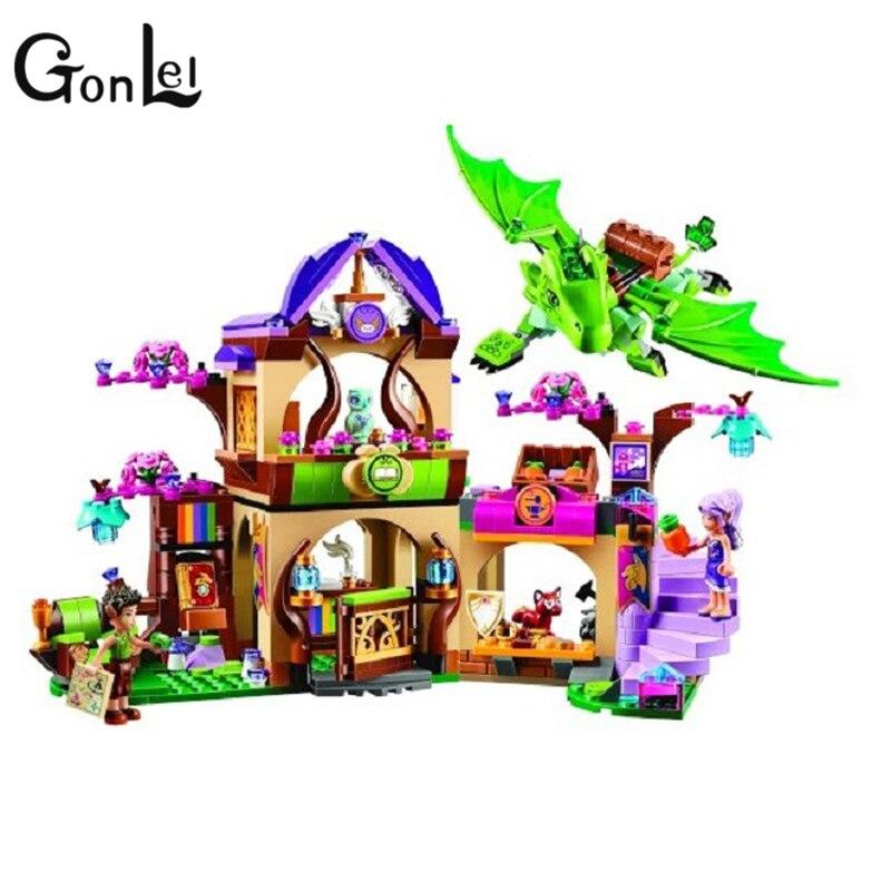 GonLeI 2016 Bela 10504 694Pcs Elves The Secret Market Place Model Building Kit Blocks Girl Toys For Children 41176 Lepin бриджстоун дуэлер 694 в екатеринбурге