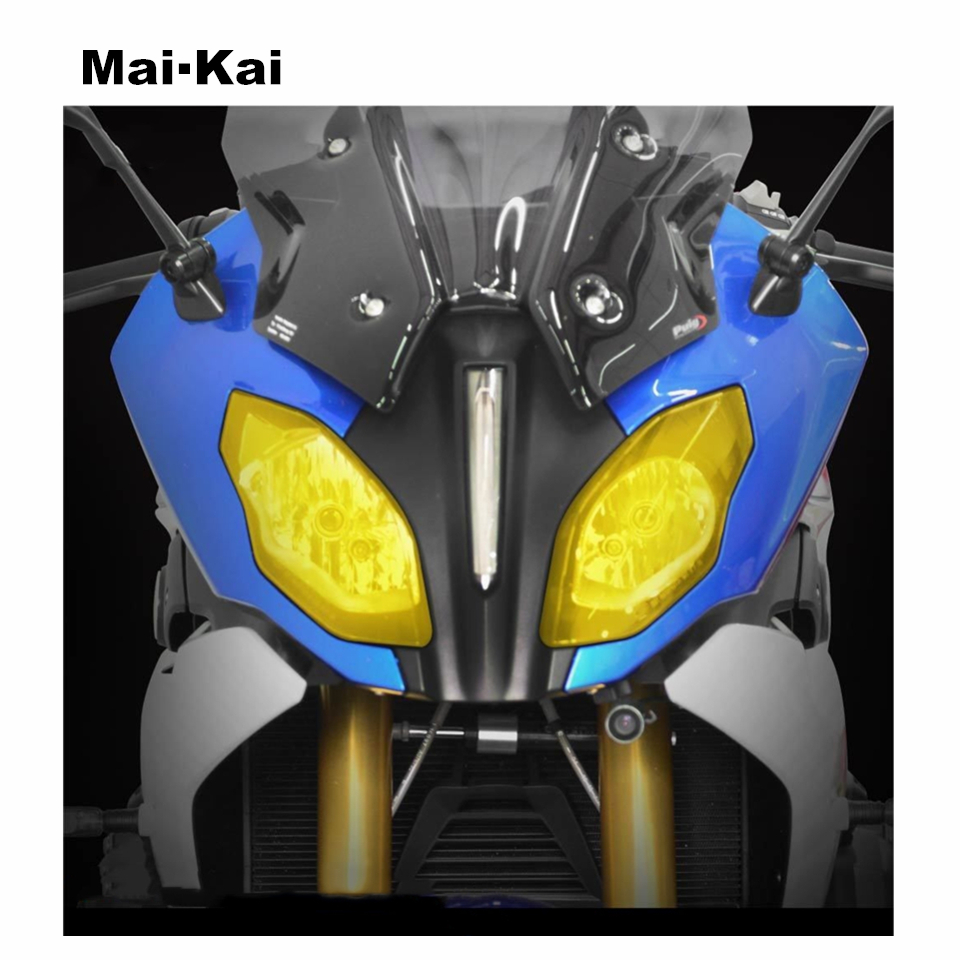 MAIKAI FOR BMW R1200RS R 1200RS R1200 RS R 1200 RS 2015 2018 motorcycle Headlight Protector Cover Shield Screen Lens in Covers Ornamental Mouldings from Automobiles Motorcycles