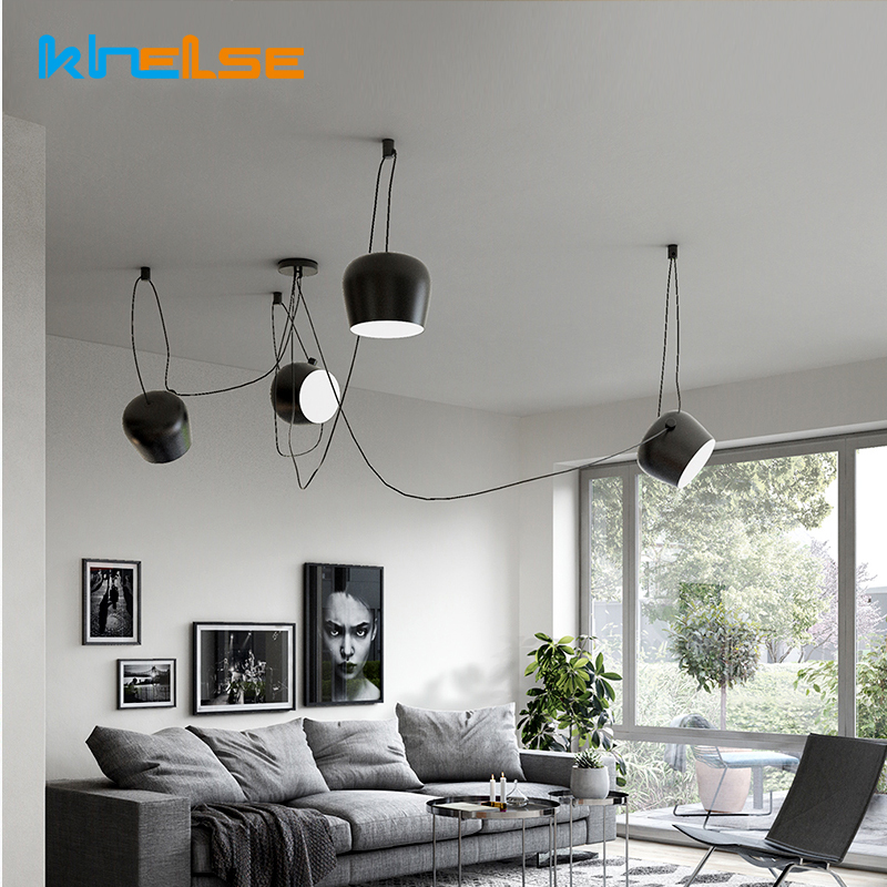 Simple Scandinavian Dining Room Ideas 10: Modern Nordic Simple DIY Restaurant Pendant Lights