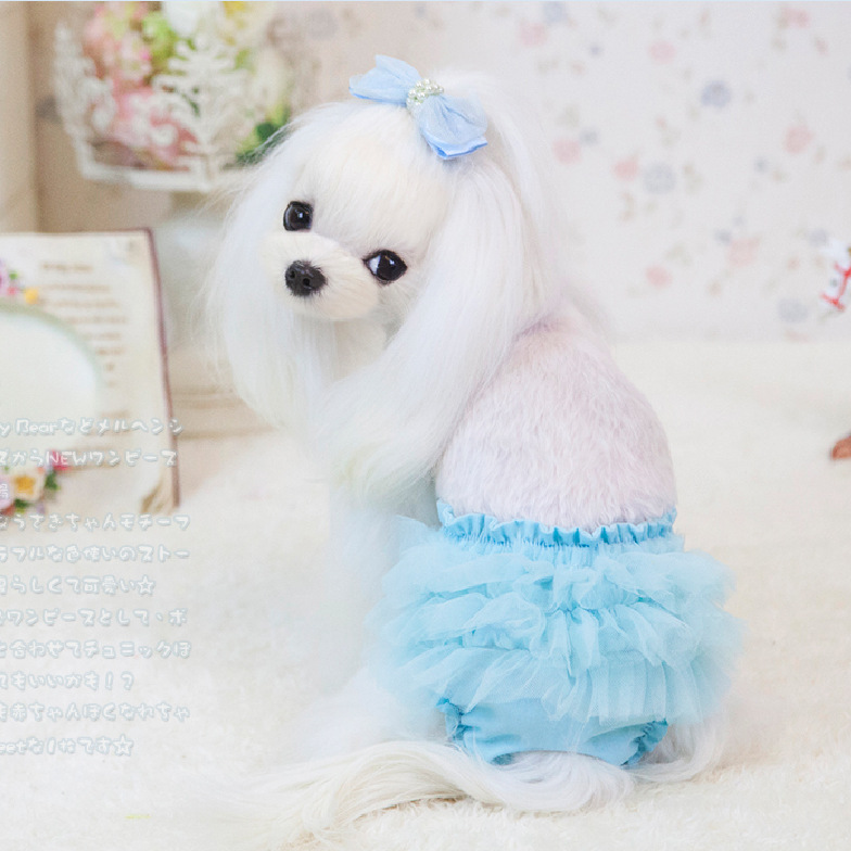 Cute Cotton Female Pet Dog Sanitary Physiological Pants Panties Short Small Dog Pet Tutu Skirt Trousers Dog Underwear Diaper Diapers Infant Underwear Costumeunderwear Aliexpress