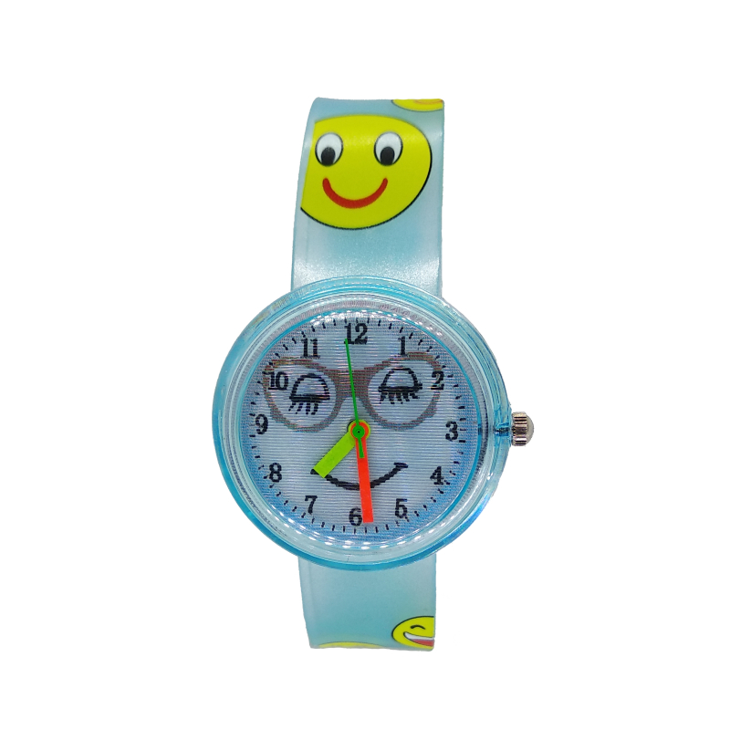 Multi-pattern Smiley Face Dial Girls Boys Quartz Watch Children Creative Eyes Smile Kids Watches For Students Clock Dropshipping