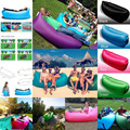 Beach Portable Outdoor Furniture Air Bed Inflatable Hammock Sleeping Bag Camping Air Sofa Nylon Polyester Lazy Bag Environmental