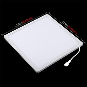 Image 2 - PULUZ מיני 22.5cm LED צילום צללים תחתון אור צל משלוח אור מנורת פנל Pad עבור 20 cm תמונה סטודיו תיבת lightboxs