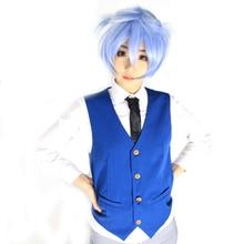Brdwn Assassination Classroom Unisex Shiota Nagisa Cosplay Suit (Vest+Shirt+Tie) assassination classroom cosplay korosensei unisex anime costumes cloak robe dust coats tie shirt