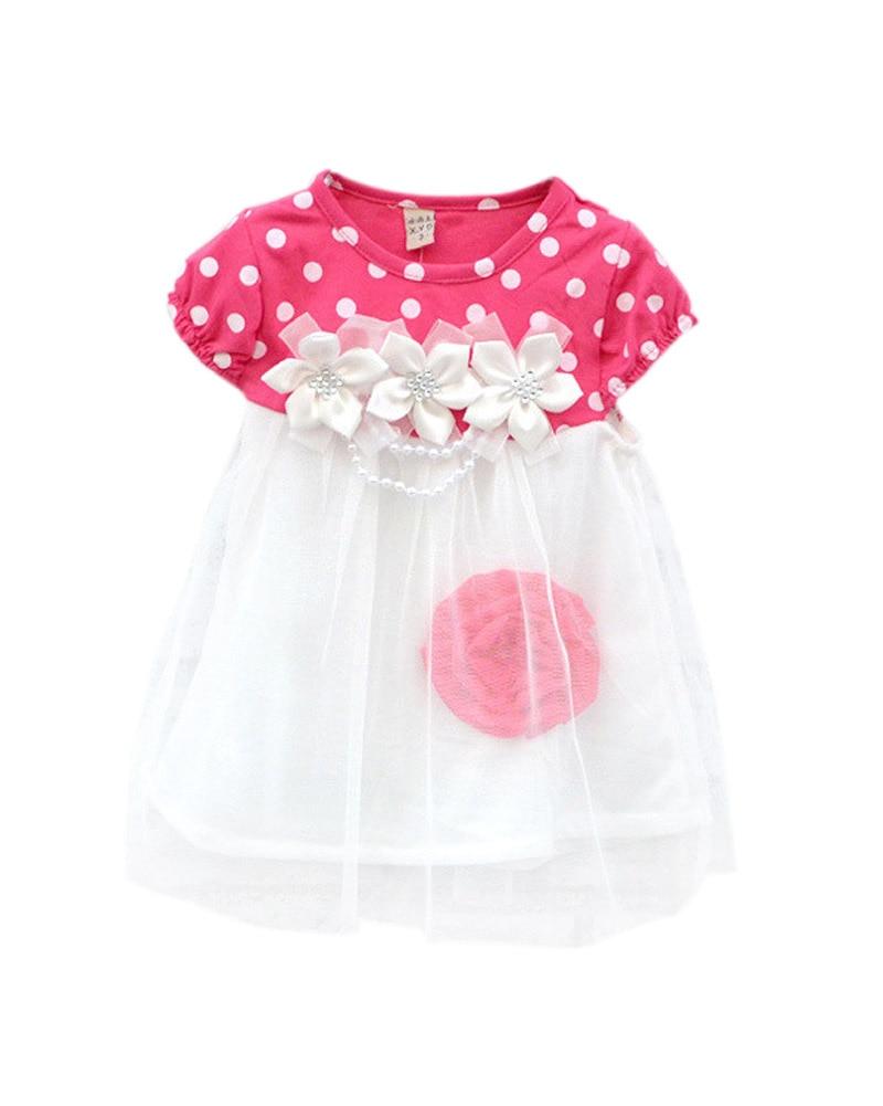 2017 Summer Baby Dress Kids Wear Girls Princess Dresses Children Clothing