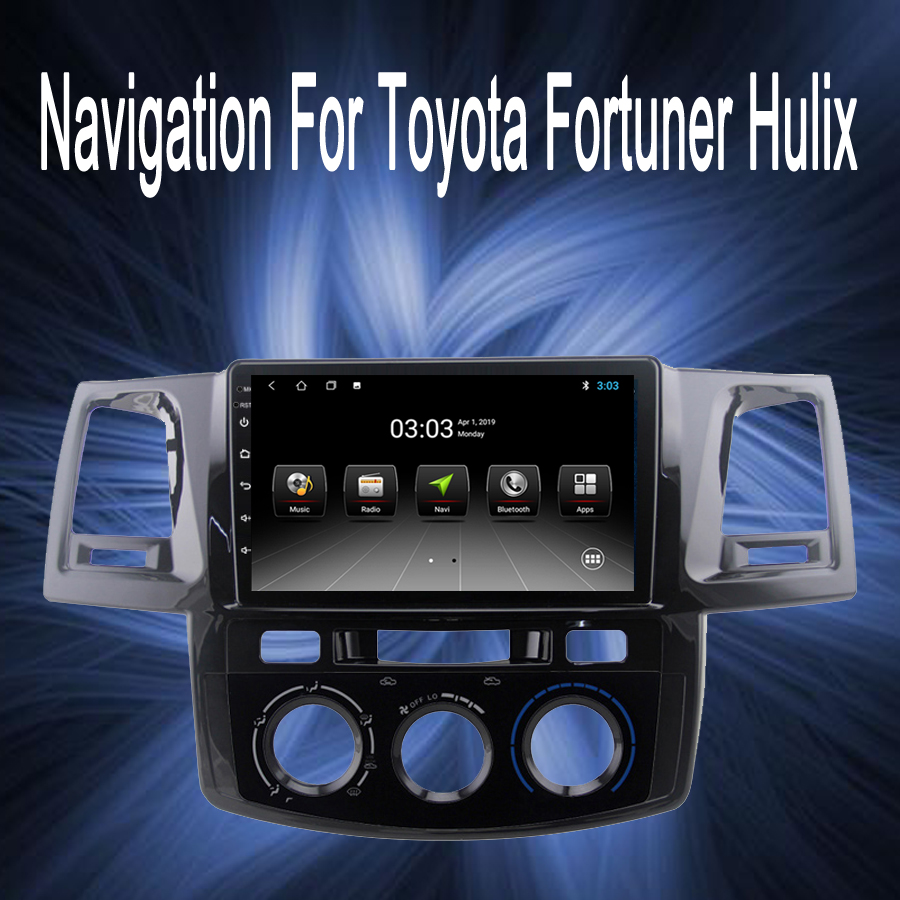 OTOJETA Brand car android gps HD touch screen navigation Fit for Toyota Hilux 2010 2015 car stereo autoradio aux bluetooth