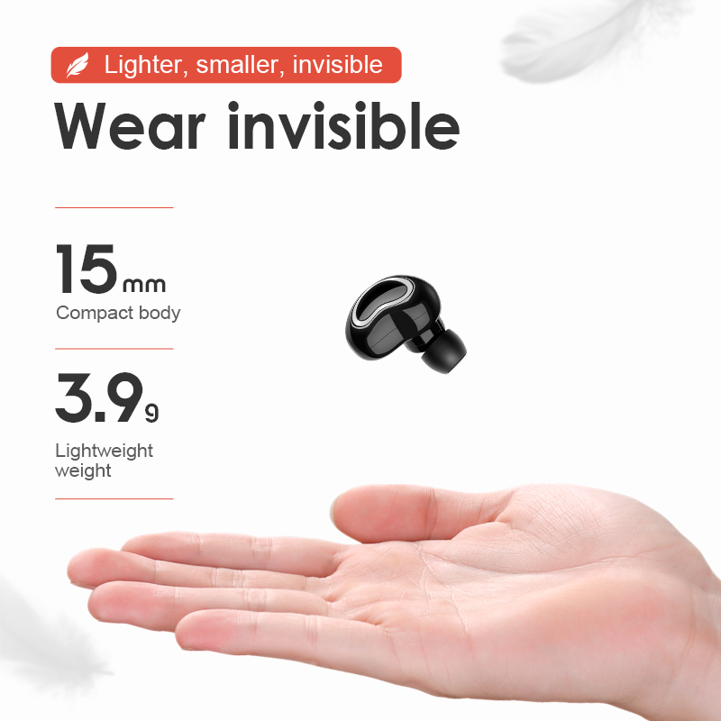 lowest price SANLEPUS Mini Bluetooth Earphone Wireless Headphone Handsfree Earbud With Micphone Charging Box For Phones iPhone Samsung xiaomi