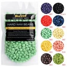 Hot Film Hard Wax Beans Flavors Removal Cream No Strip Depilatory Pellet Waxing Bikini Hair Bean