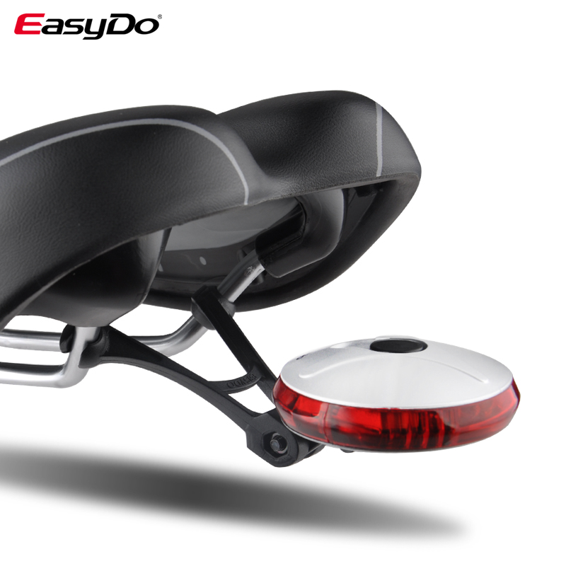 EasyDo Tail Rear Bike Light Special Colorful Quick Dissasembly 6 Led Lamp Waterproof For Bicycle Light Mountain Road Bike UFO