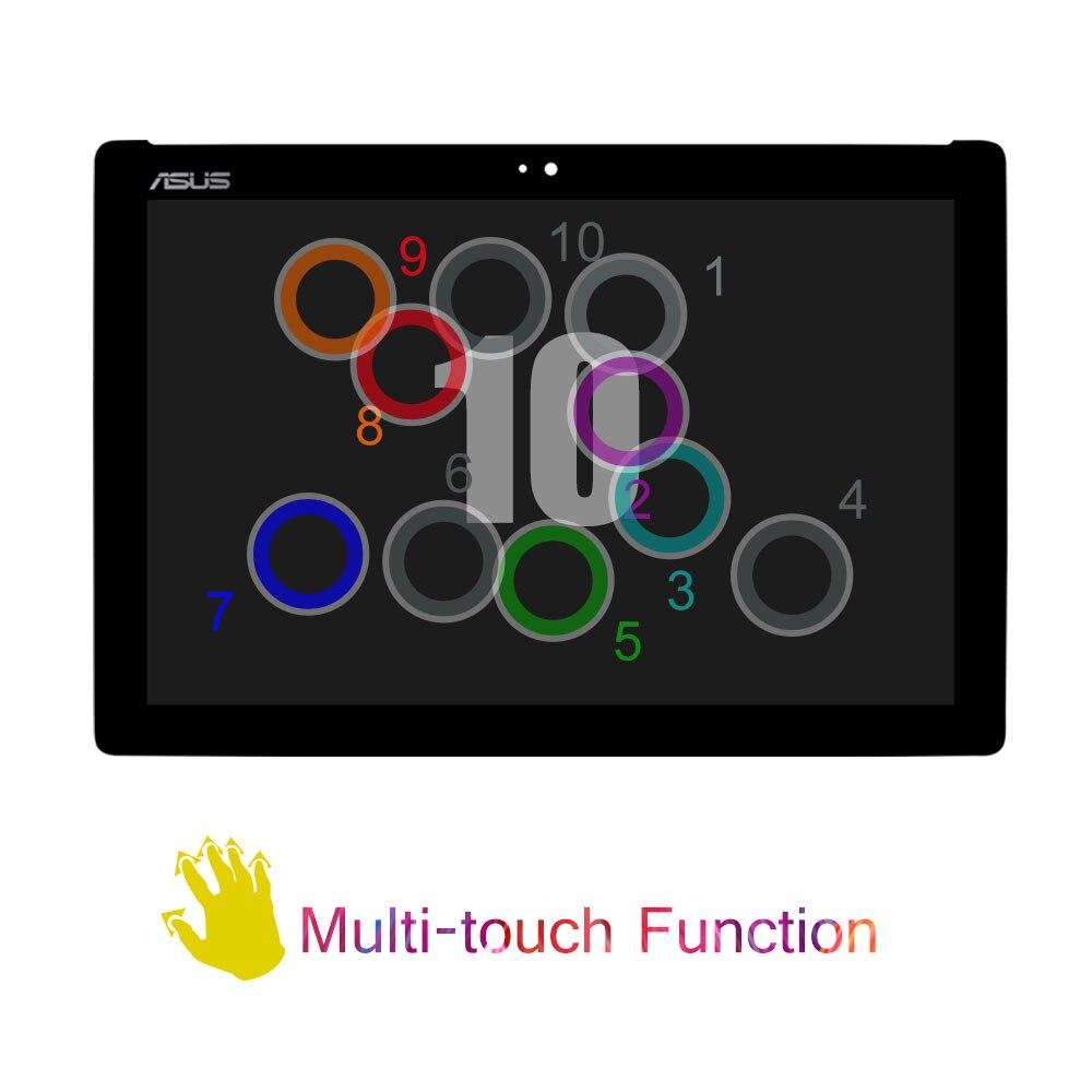 SRJTEK LCD affichage NV101WUM-N52 écran tactile numériseur assemblée pour ASUS ZenPad 10 Z301M Z301ML Z301MFL P028 P00L Z300M P00C - 3