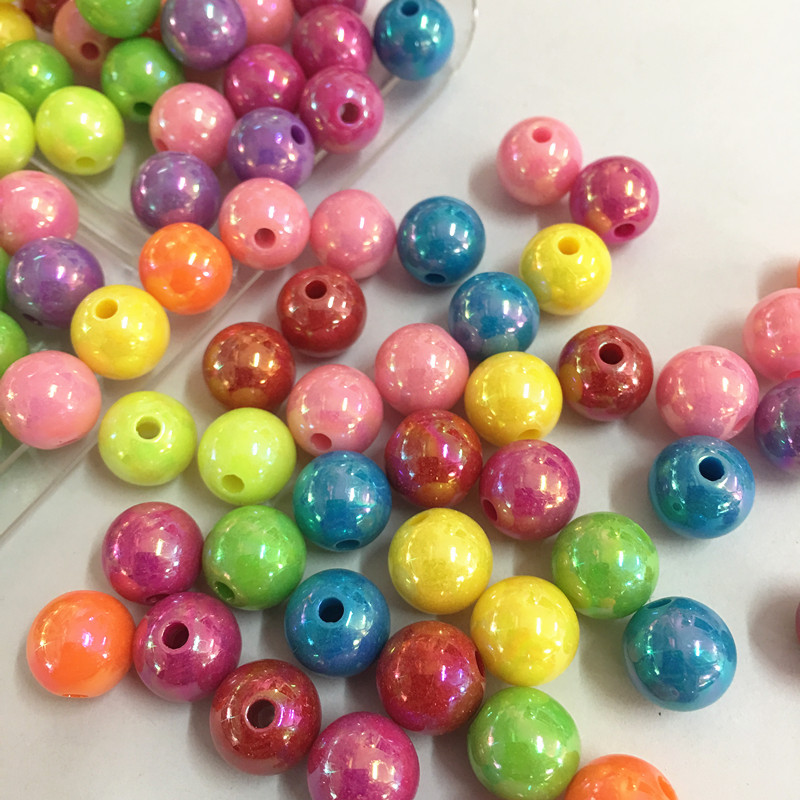 A3424 Green Mix 200 pcs 4mm Crystal Glass Faceted Round Beads