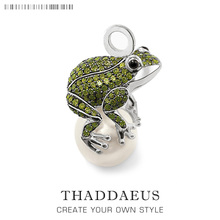 Pendant Frog And Pearl,2019 Brand New Fashion Trendy Jewelry Europe 925 Sterling Silver Bijoux Accessories Gift For  Men Woman