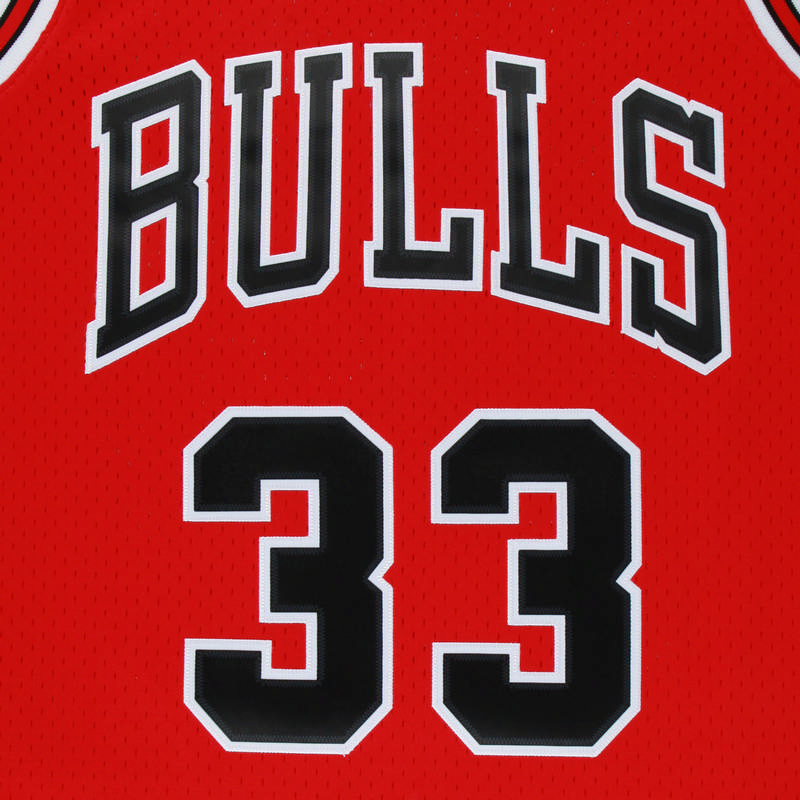 17ca0bfb22 NBA Jerseys SWINGMAN originais Retro Camisola N ° 33 Scottie Pippen Chicago  Bulls Respirável dos homens de Basquete Jerseys em Basquete Jerseys de  Sports ...