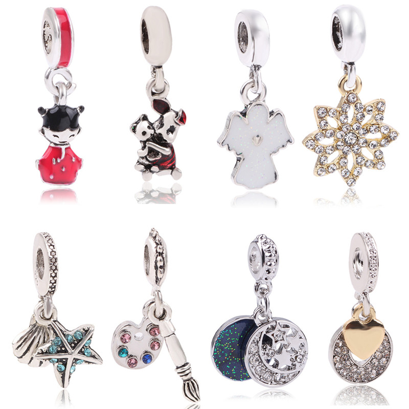 Punctual Couqcy Sparkling Murano Glass Beads Butterfly Charms Fit Original Pandora Bracelet Diy Jewelry Making Women Gifts Jewelry & Accessories