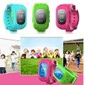 Smart Watch Q50 Kid Safe GSM GPS Finder Locator Фитнес трекер SIM SOS Anti-Потерянный Smart Watch Детей Просмотрам для iOS Android
