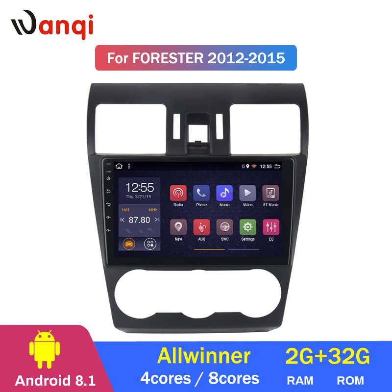 2G RAM 32G ROM Android 8.1 Car DVD Multimedia Player GPS for Subaru Forester XV WRX 2012-2018 navigation