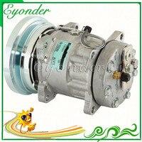 A/C AC Compressor de Ar Condicionado Bomba De Refrigeração para a Caterpillar 3E1908 300BL Serie 400 D 641450 3641530 4608 8065 8T8816 7H15|Ventiladores e Kits| |  -