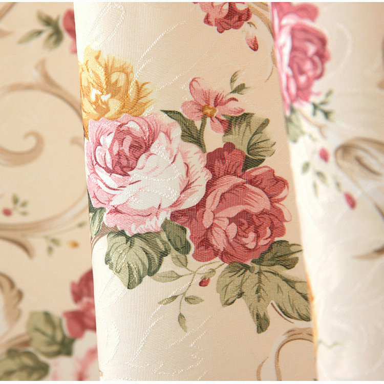 Window Curtain For Living Room Floral Curtain / Kitchen Curtains Butterfly  Red Purple Roses In Curtains From Home U0026 Garden On Aliexpress.com | Alibaba  Group Part 28