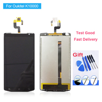 For Oukitel K10000 LCD Display and Touch Screen Digitizer Assembly 100% Tested New Replacement Screen Oukitel K10000 LCD Screen