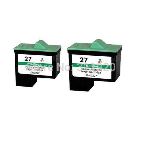 Einkshop für Lexmark 27 Tinte Patrone für Lexmark i3 Z13 Z23 Z25 Z33 Z35 Z515 Z600 Z603 Z605 Z615 X1100 x1200 X74 X75 X83 X125