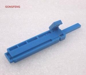 Image 5 - GONGFENG 100 stks NIEUWE Optische Fiber Quick Connector Tool Vergadering Vaste Lengte Stripper, lengte van geleiderail van een combo Groothandel