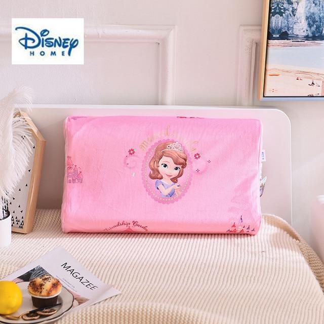 3d Latex Memory Pillow Disney Mermaid Bed Pillow 100 Cotton Fabric Pink Girl Bedding Room Decor Sleeping Neck Care Soft Pillows Decorative Pillows Aliexpress