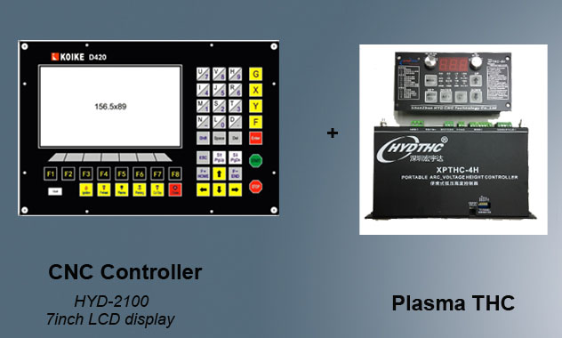 Plasma Cnc Controller And Thc Xpthc 4h Torch Height