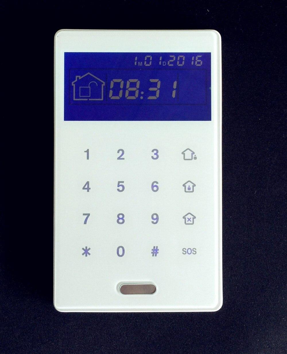 bilder für PB-503R Wireless-touch-tastatur Dual Weg Tastatur mit RFID-Tags Reader Für Einbruchmeldeanlage ST-V, ST-VGT, ST-IIIB, ST-IIIGB