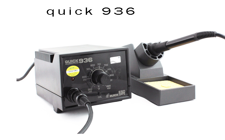 ФОТО Free shipping 220V 936 constant temperature 60W electronic soldering iron SMD soldering station for mobile phone repair
