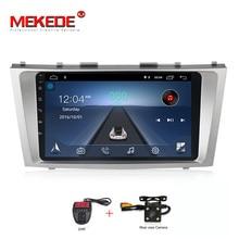 MEKEDE 9 «Android 8,1 2 Дин dvd для Toyota Camry 2007 2008 2009 2010 2011 радио gps навигации стерео с руль