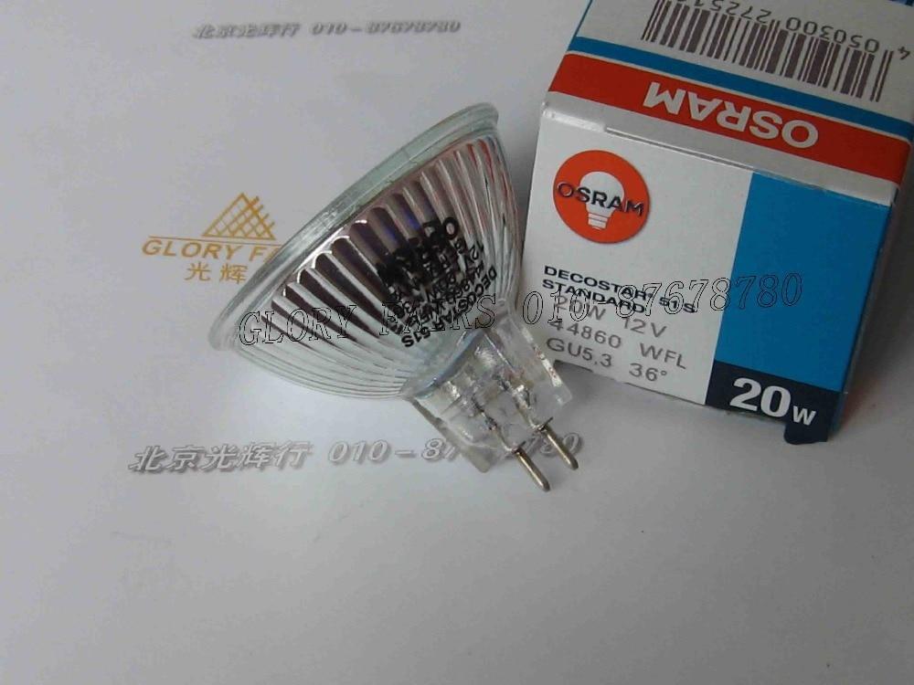 Osram Decostar Standard 44860 WFL 36 Degrees 20 Watt 12 Volt GU5.3