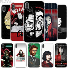 La Casa de papel Telefon Fall für Apple iPhone X XR 7 8 Plus 6 6s Plus XS MAX 11 Pro Max SE Telefon Fall Coque(China)